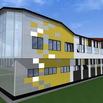 Строительство здания из ЛСТК